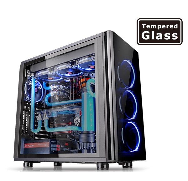 view-31-usb3-black-tempered-glass