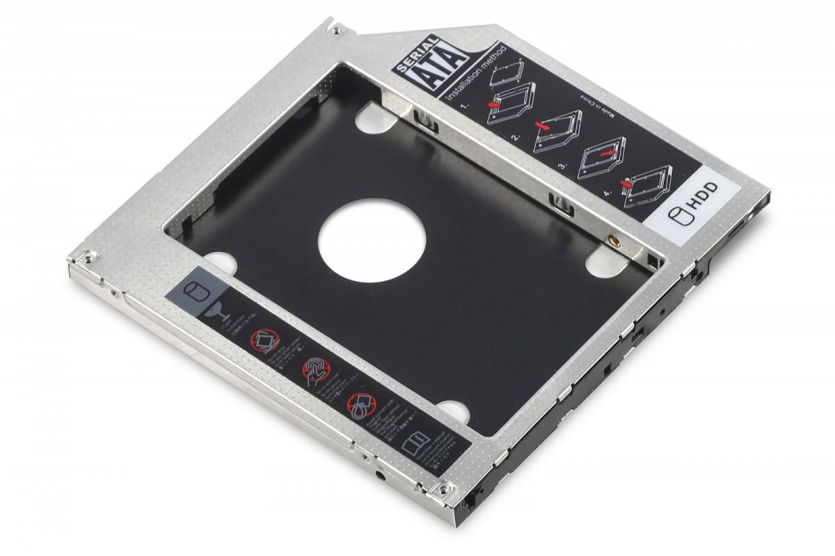 ramka-montazowa-ssdhdd-do-napedu-cddvdblu-ray-sata-na-sata-iii-9-5mm